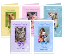 Funeral Program Site Template Company Adds Pet Memorial Product Line To Online Superstore